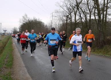 Semi-marathon de Feurs, le 24 mars 2013