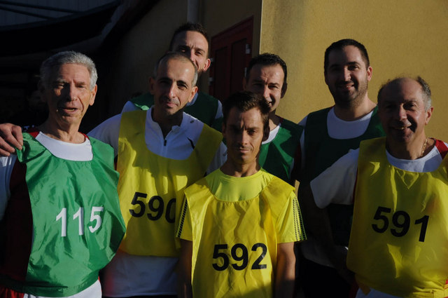 Les coureurs de la section JOGGING -photo D. Rollat-