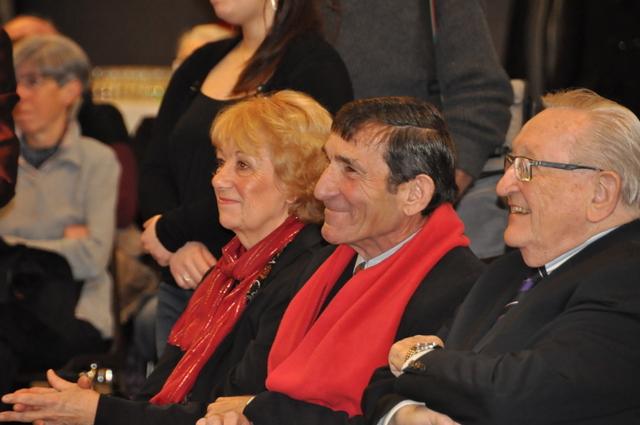 Jacky, sa compagne Danielle et Bob Deville