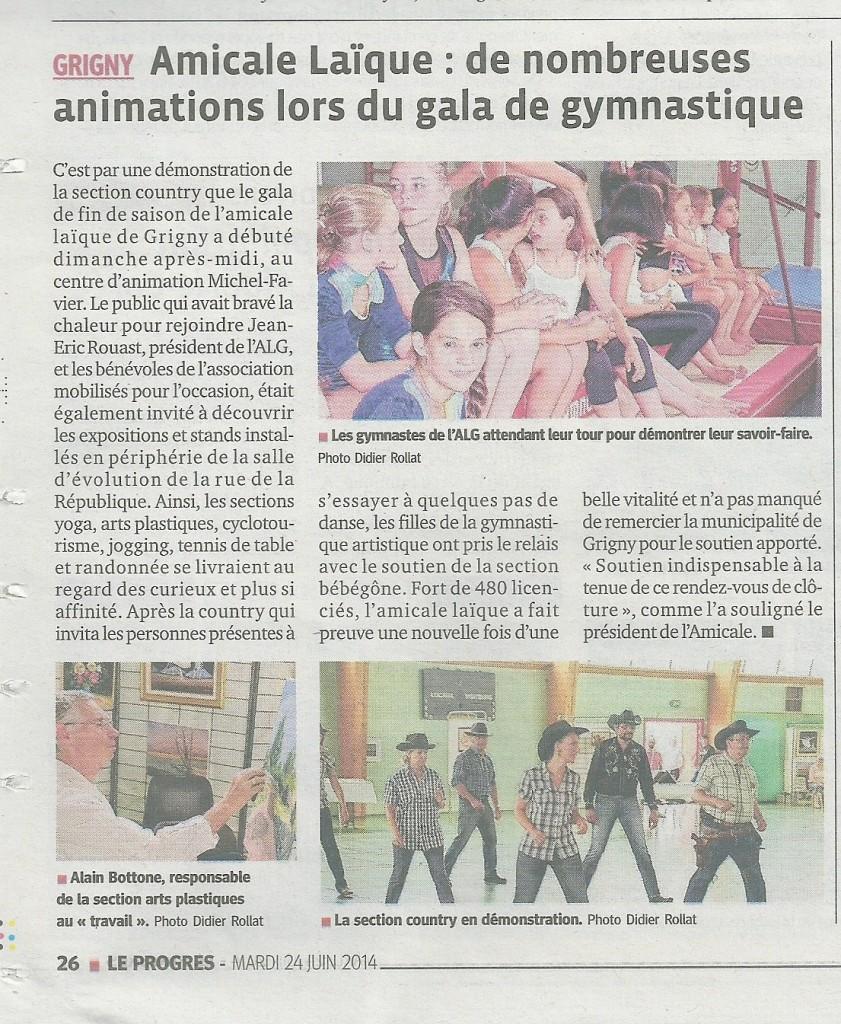 Gala du 22 juin 2014