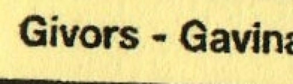 Comité de jumelage Givors-Gavinané