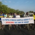 Le comité d'accueil des jeunes de Koupéla