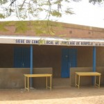 Le local du comité de jumelage à Koupéla