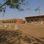 Ecole de Pognini,située à la périphérie de Koupéla-ville.