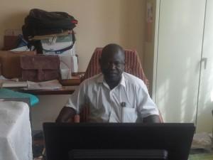 Monsieur François Larba Kaboré, directeur du service provincial de l'eau et de l'assainissement.